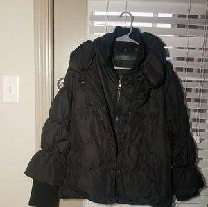 Steve Madden Black Puffer Coat